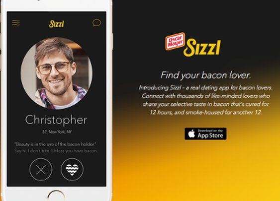 Oscar Mayer Releases Sizzl, A Dating App For Bacon Lovers | TechCrunch