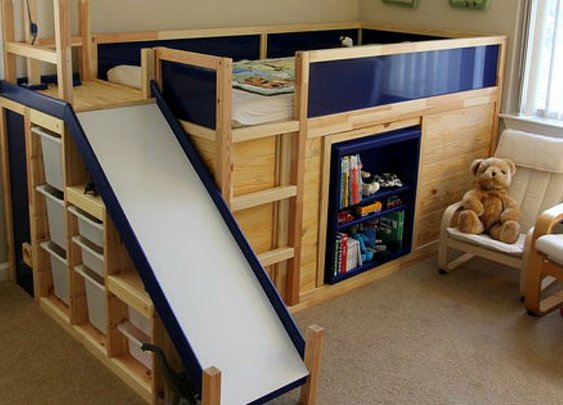 The Ultimate Ikea Kid's Bed Is Real