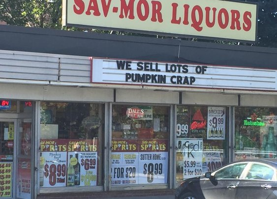 Someone give this Medford liquor store a prize for honesty