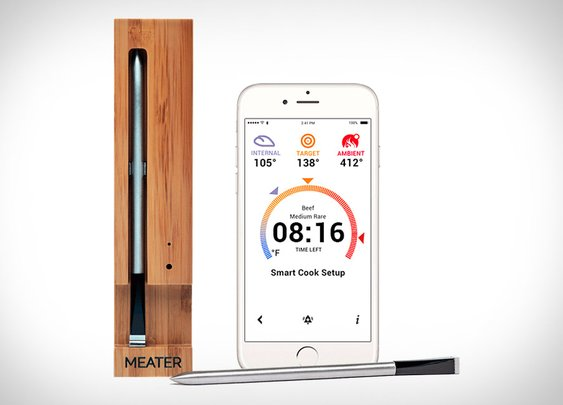 Meater Smart Meat Thermometer | Uncrate