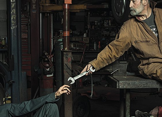 Auto Mechanics Hilariously Recreate Renaissance Paintings | Bored Panda