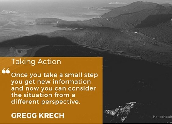 How taking action fuels your journey - Bauer Health Action