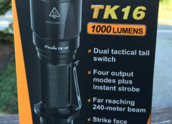 Fenix TK16 Review - with dual tactical tail switch - Tactical Flashlights and Everyday Carry