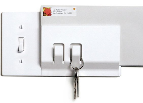 Functional Light Switch Covers | Integrated Storage | Walhub Keeper