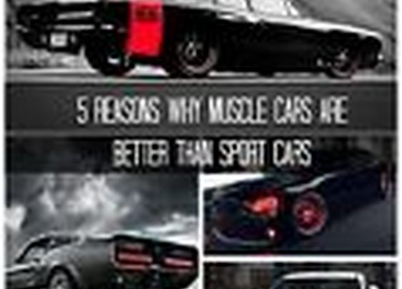 5 Reasons Why Muscle Cars Are Better than Sport Cars | eBay