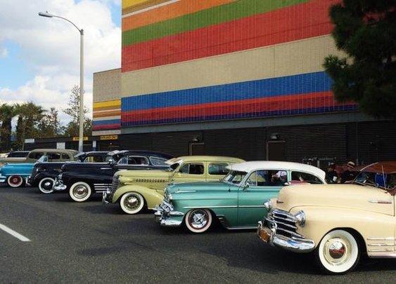 Colorful, classic car culture