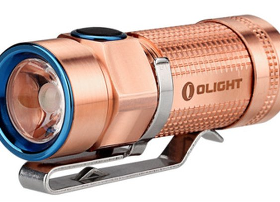 Olight S1 Baton Raw Copper - EDC bling - Tactical Flashlights and Everyday Carry