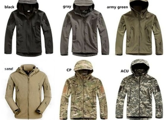 Waterproof Outdoor Military Style Jacket