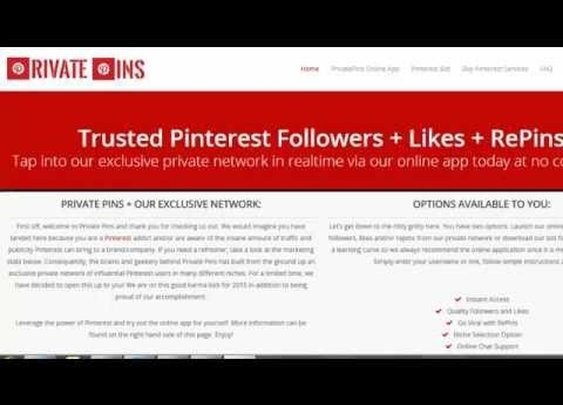 Pinterest Bot from Private Pins - YouTube