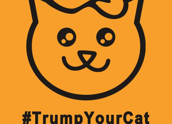 """Trump Your Cat"" T-Shirt"