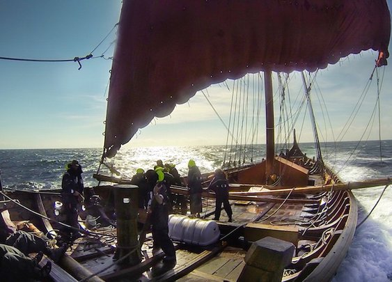 CALLING ALL VIKINGS: Volunteer Crew Needed for Transatlantic Voyage on a 115-Foot Longship