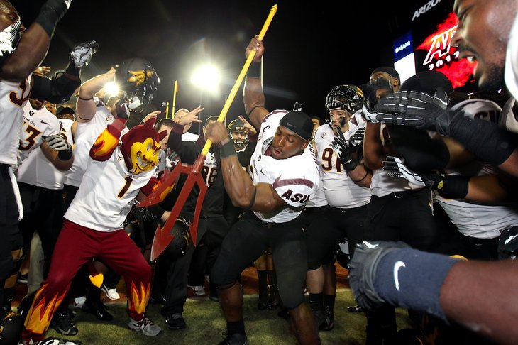 ASU wins the Territorial Cup in Tucson