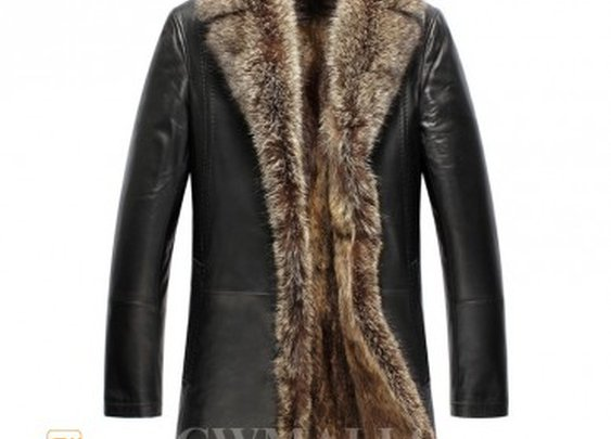 Mens Fur Lined Coat | Gentlemint