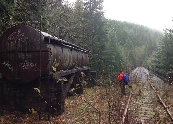 All Aboard: Exploring the Abandoned Railroad of the Salmonberry River Trail | RootsRated
