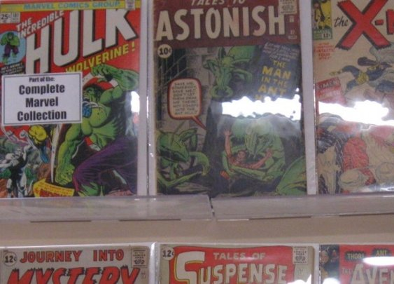 Complete Collection of Marvel Comics Up For Sale