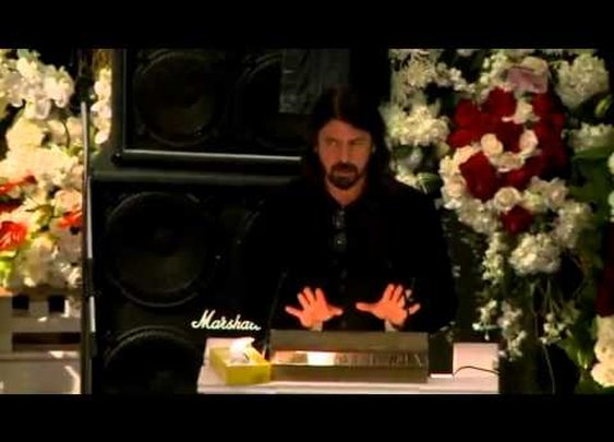 Dave Grohl's speech at Lemmy's Memorial