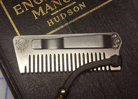 First Look: Tradesman Beard Comb - Loadedpocketz