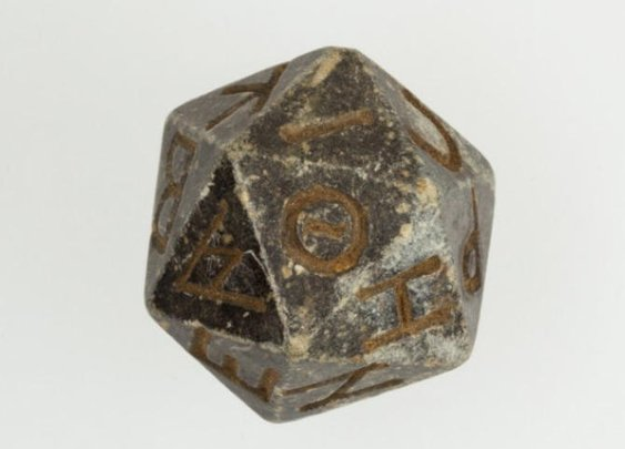 Ancient d20 die emerges from the ashes of time - CNET