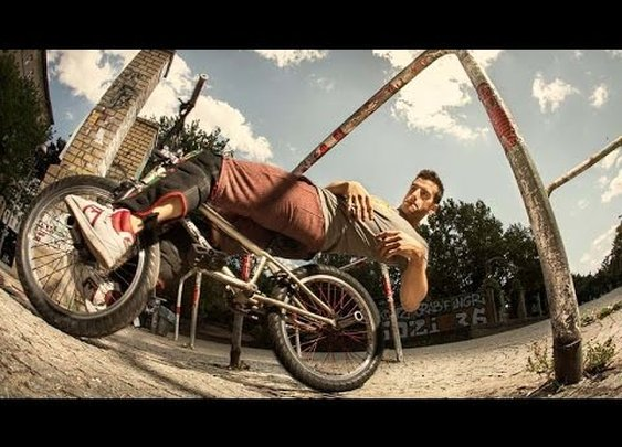 BMX Meets Parkour | Unthinkable Bike Tricks with Tim Knoll