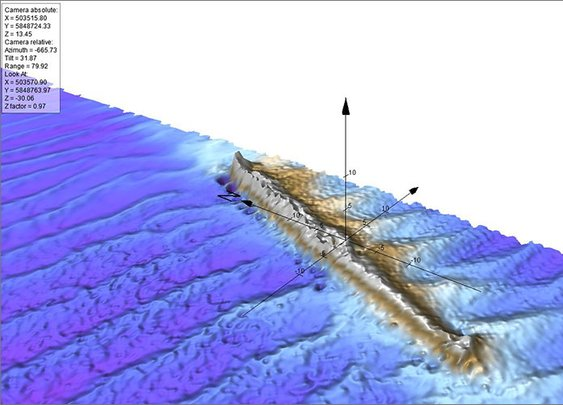 Uncharted WWI German Submarine uncovered in East Anglia Zone - ScottishPower Renewables
