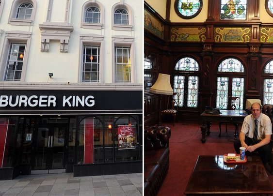 This secret dining room at a Burger King in Cardiff is fit for royalty - Wales Online