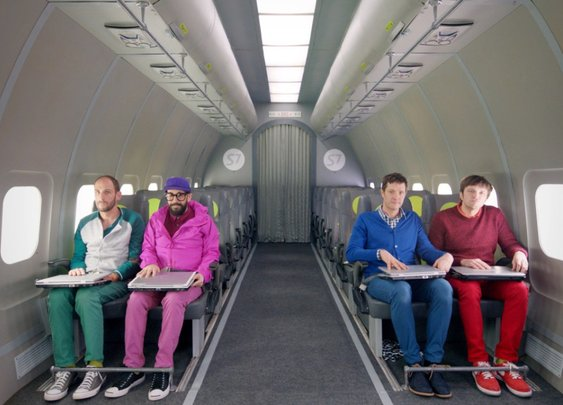 Upside Down & Inside Out, The New Music Video by OK Go Shot in Zero Gravity in a Single Take