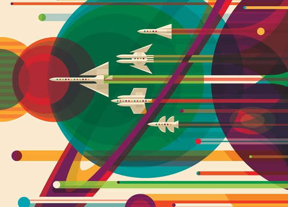 NASA - Visions of the Future (Posters)