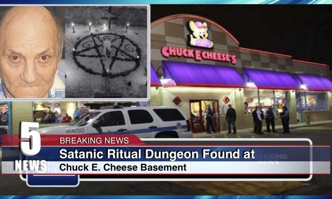 Police Find Satanic Ritual Dungeon In Chuck E Cheese