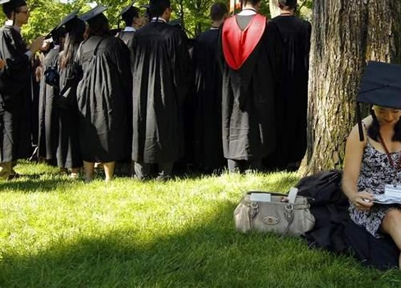 A college degree is worth less if you are raised poor | Brookings Institution