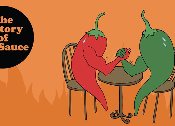 An Illustrated History of Hot Sauce | First We Feast