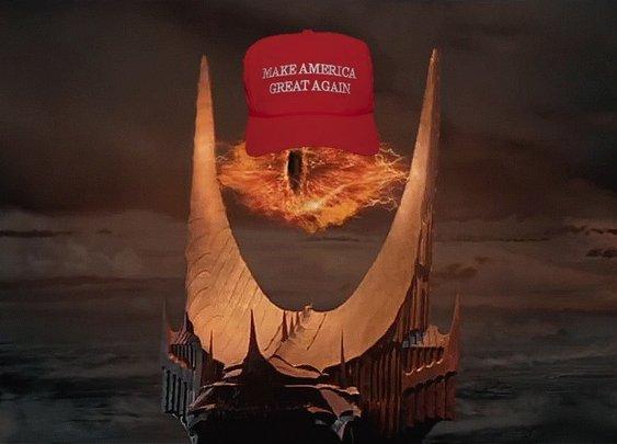 Sauron Endorses Donald Trump for President