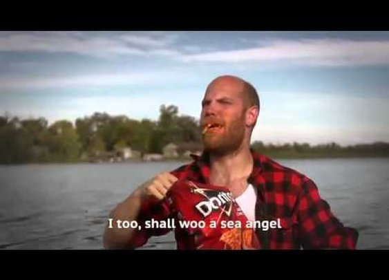 Some Guys Went Fishing With Doritos And They Met Mermaids