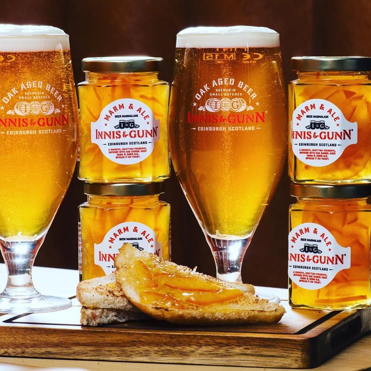 Craft Brewery in Dundee, Scotland Creates a Unique Spreadable Beer in Marmalade Form