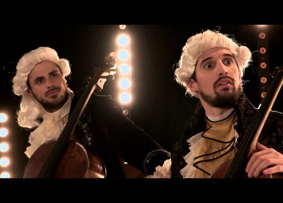 2CELLOS - Whole Lotta Love vs. Beethoven 5th Symphony [OFFICIAL VIDEO] - YouTube