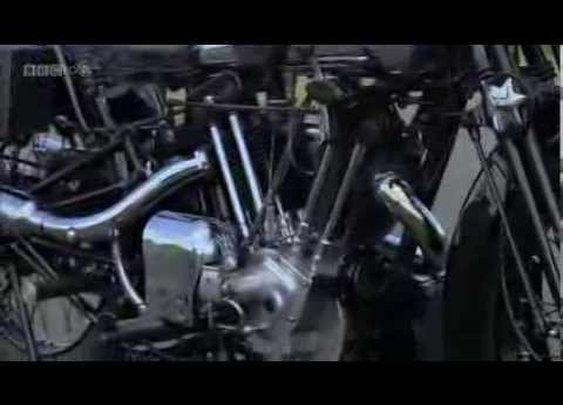 The Glory Days of British Motorbikes