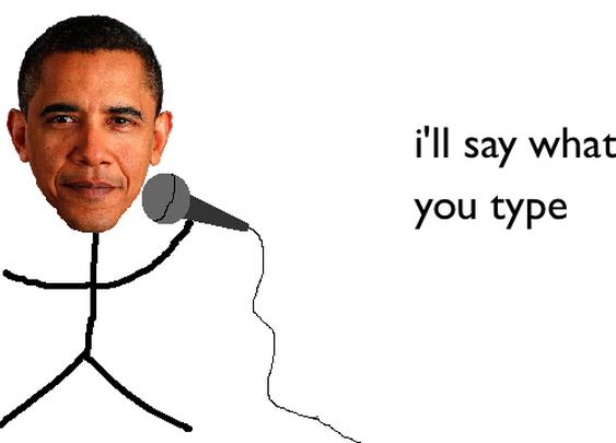 Talk Obama To Me