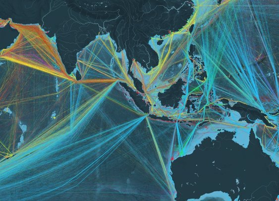 Shipmap.org | Visualisation of Global Cargo Ships | By Kiln and UCL