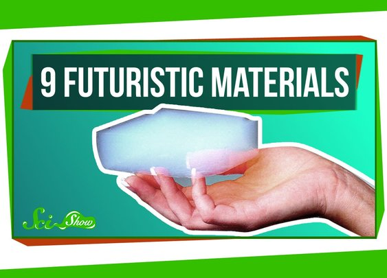 9 Futuristic Materials - YouTube