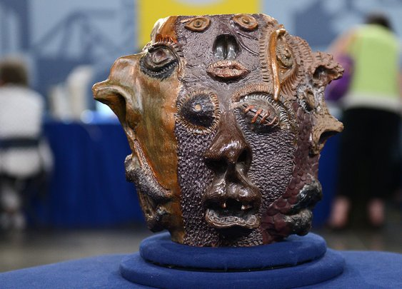 '70s High School Art Project Mistakenly Valued At $50K On 'Antiques Roadshow' : The Two-Way : NPR