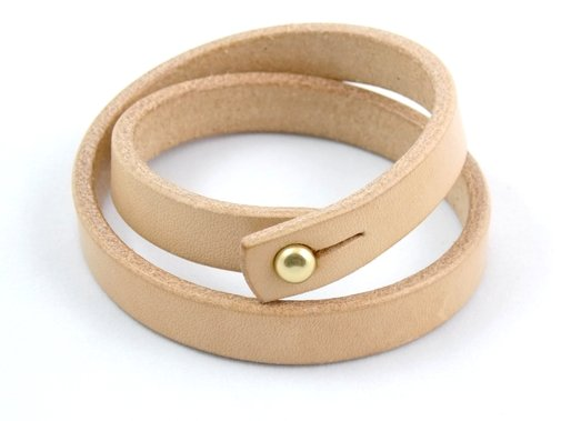 Faler Leather Double Bracelet