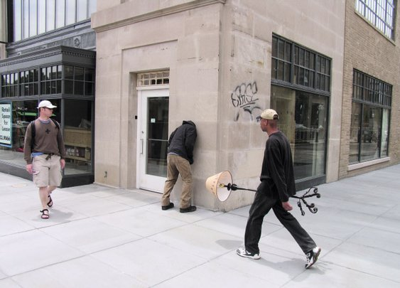 Public Sculptures of Unruly Mannequins