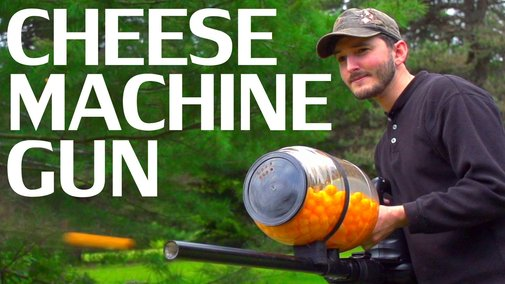 How to Make a Cheese Ball Machine Gun