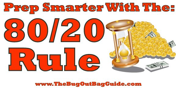 Using the 80/20 Rule To Prep Smarter, Better, Cheaper, And Faster