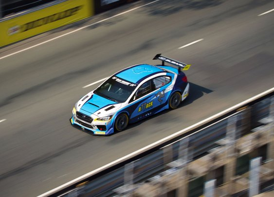 Watch a Modified Subaru WRX STI Dominate the Isle of Man TT - Motor Trend