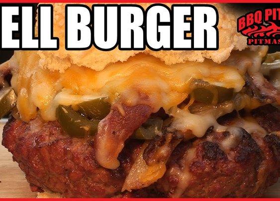 Hell Burger Bacon Cheeseburger