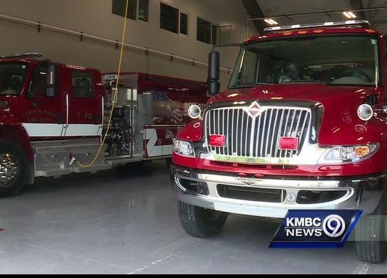 Powerball winner pays back community with new fire station