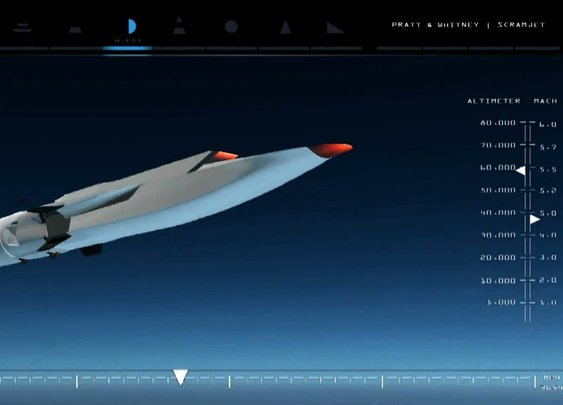 The Warp Speed of Today: Boeing's X-51A WaveRider