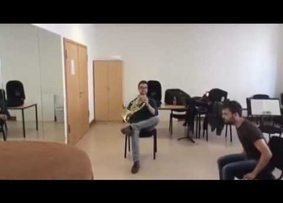 Duet for French Horn and a... - YouTube