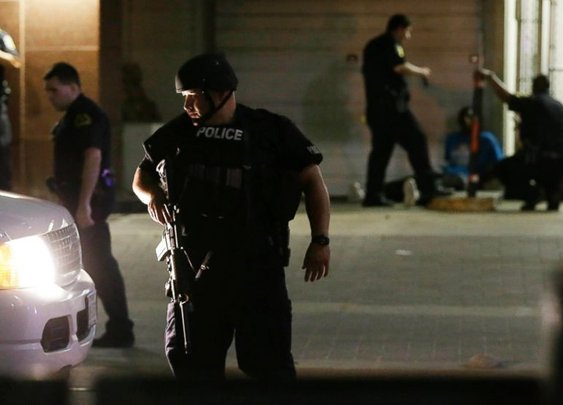 Mother Injured at Dallas Shooting Shielded Son From Bullets - ABC News