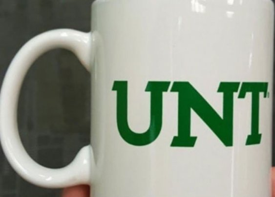 The University of North Texas really didn't 'think through' their coffee mug design